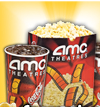 AMC Movie Theaters have Great Deals like FREE Popcorn