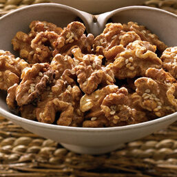 Candy Covered Walnuts