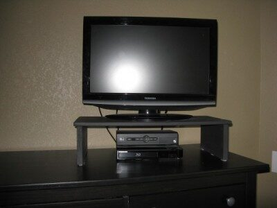 Make Your Own Television Riser and Save Money