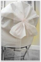 Use Pillowcases for Inexpensive Chair Covers for Wedding or Party