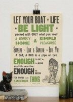 Let Your Boat of Life be Light