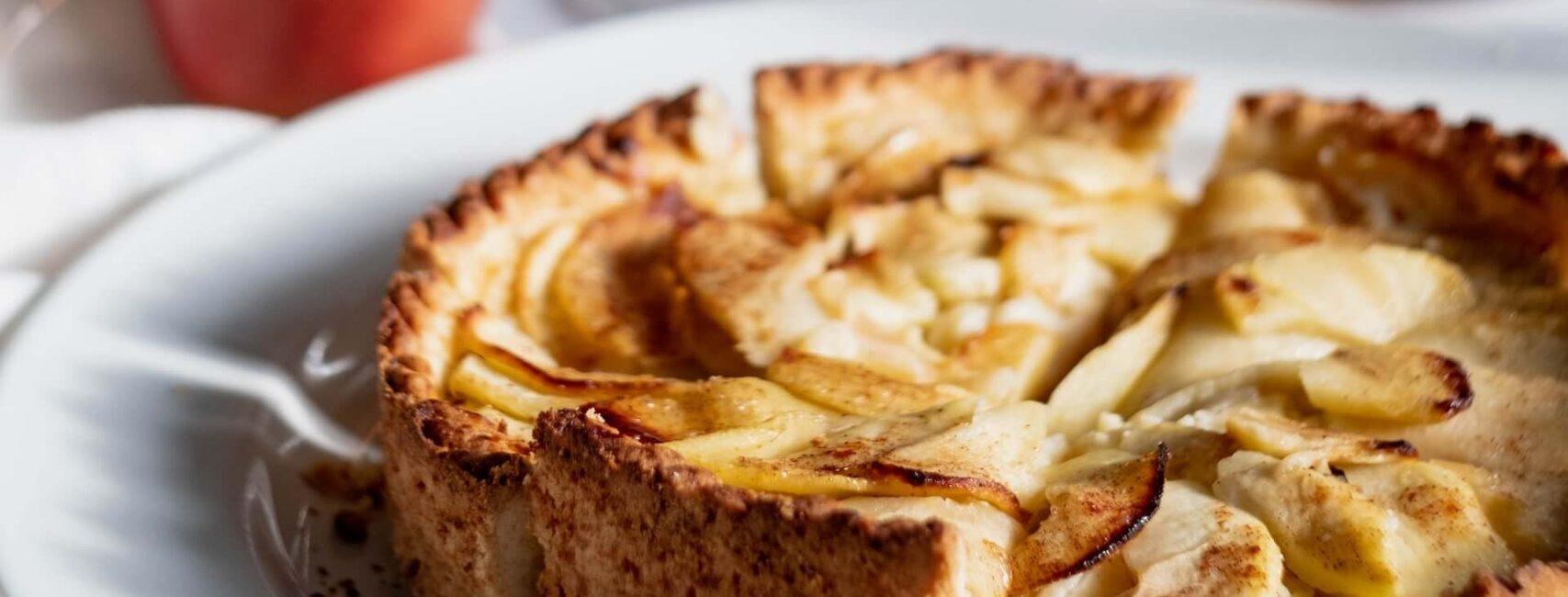 Gluten-free Crustless Apple Pie