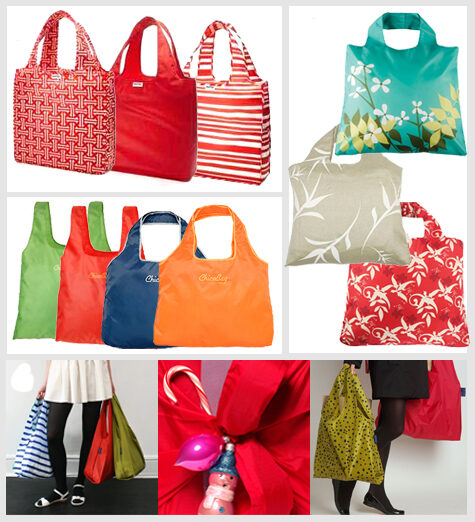 Use Reusable Grocery Bags as Gift Bags for Any Occasion
