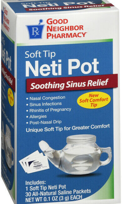 Use a Neti Pot to Clean Out Your Sinuses